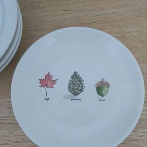 Rae Dunn fall plates